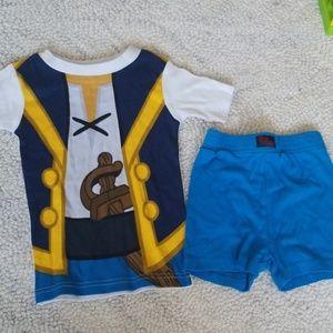 4t pajama set Disney